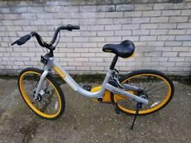 Yellow o-bike, legal sale, receipt AoD