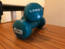 Hand Weight 1.5kg dumbbells