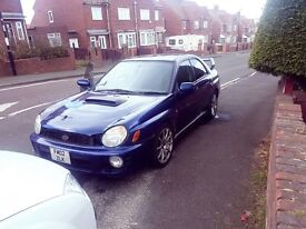 Scooby with full sti kit and bbs alloys