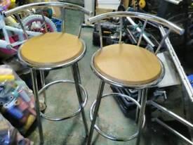 Kitchen bar stools x2