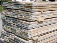 USED RECLAIMED FULLY DRY WELL SEASONED 13ft (3.9m x 225mm x 36mm) Scaffold Boards Scaffolding Planks