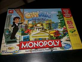 Monopoly city ville game as new