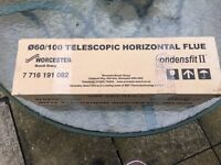 Worcester telescopic horizontal flue kit 60/100mm- £55 ono.
