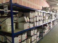 JOB LOT hi lo industrial long span shelving ( pallet racking , storage )