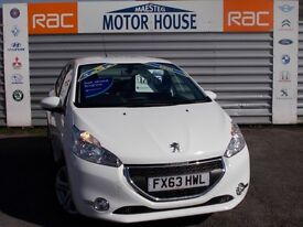 Peugeot 208 E-HDI ACTIVE FAP (£0.00 ROAD TAX) FREE MOT'S AS LONG AS YOU OWN THE CAR!!! 2013