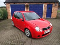 2002 VW Lupo GTI Flash Red Low Mileage Includes Personalised Plate