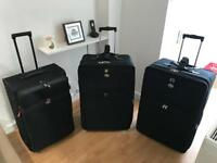 Set of 3 American Tourister Suitcases