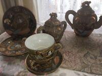 Oriental Tea Set - Complete Set