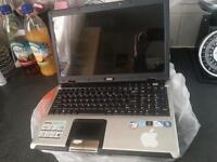 msi laptop needs new battery and charger sparea or repairs