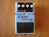 Boss CH-1 Stereo Super Chorus - MINT, boxed with all manuals