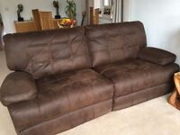 2 x 2 Seater Settees and Armchair All manual reclining