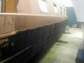Narrowboat Shell