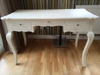 Beautiful dressing table with crystal knobs