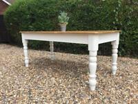6ft Vintage Farmhouse Pine Table