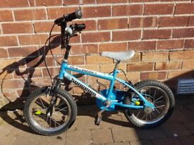 Boys Bike - Suitable for 4 - 6 year olds - Belfast - Challenger by Raleigh - Good condition