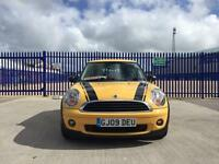 2009 MINI HATCH 1.4 ONE SERVICE HISTORY NEW MOT