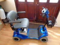 mobility scooter ky foru good condition will fit in boot reason for selling to small