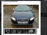 L@@K CHEAP AUDI S4 SPEAR/REPAIR ENGINE NEEDS TLC PRICED TO SELL BARGAIN