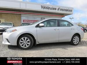 2014 Toyota Corolla LE BACKUP CAMERA, HEATED SEATS