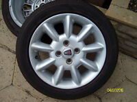 2 x Rover 25 Alloy wheels and Tyres 185/55/15R