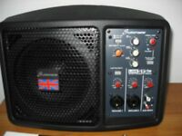 Studiomaster LIVESYS 5 150 watt portable pa / monitor