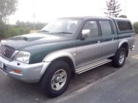 4X4 MITSUBISHI L 200 ............... (( LOW MILEAGE ))...................