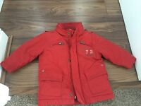 Boys Red Timberland Jacket - 12 Months