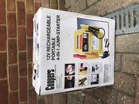 4-in-1 jump start kit- Coopers-Good condition-Verwood nr Bournemouth