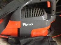 Garden vac with bag electric flymo leaf collector good working order