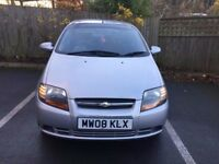 2008 Chevrolet Kalos SE 1.15, 5 drs, silver, very low mileage, excellent conditions