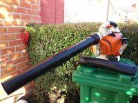 stihl sh86 petrol leaf,snow blower/shredder,as bg86,BG66,bg85,sh85,SEE VIDEO
