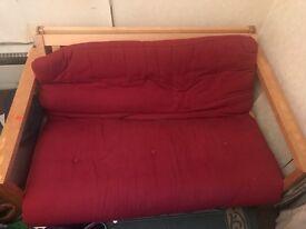 Wood-Frame futon
