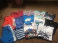 Tshirts and shorts bundle age11/14
