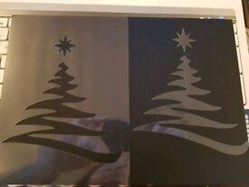 Handmade Christmas Stencils for Card Making Scrapbooking