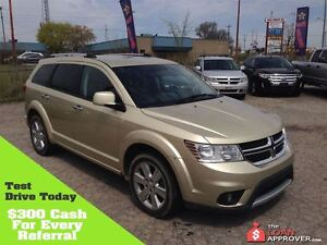 2011 Dodge Journey RT * 4X4 *LEATHER * JUST REDUCED WAS $21475