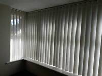 Vertical blinds with a difference