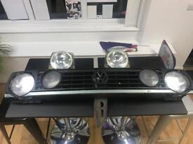 Mk2 golf quad light setup