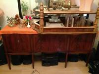 Handmade British Mahogany Antique Chest Drawer Table - Furniture - Beautiful Elegant