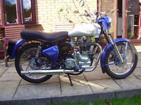 Royal Enfield Bullet 500 Sixty-5. Best of the cast iron models