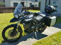 2012 Triumph tiger 800xc with luggage px/swap