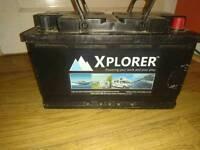 Alpha Xplorer 110amp hour Leisure battery