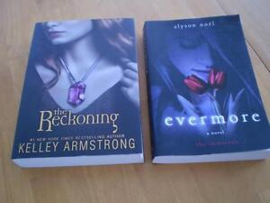IMMORTALS SERIES BOOK EVERMORE, BLUE MOON,DARK FLAME, SHADOWLAND