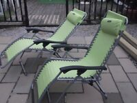 RECLINING GO OUTDOOR LOUNGER CHAIRS