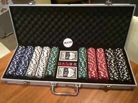 Poker Set brand new in case