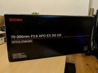 Sigma 70-200mm f/2.8 APO EX DG HSM Optical Stabilised Telephoto Lens Nikon Fit