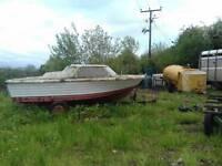 Cabin cruiser & Trailer