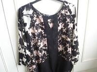 Ladies smart top, ideal for day or evening wear from Principles, size 18