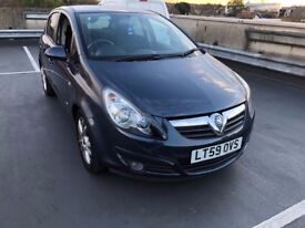 5 door vauxhall corsa 1.2 a/c sxi hpi clear one year mot