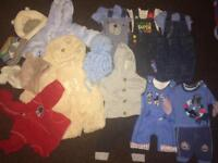 Autumn winter baby boy bundle 50+ items see all pics