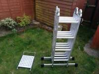 4.7m multi-purpose ladder only used once